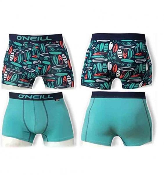 O´Neill Herren Boxershort 2er Pack 900672 Navy-Aqua