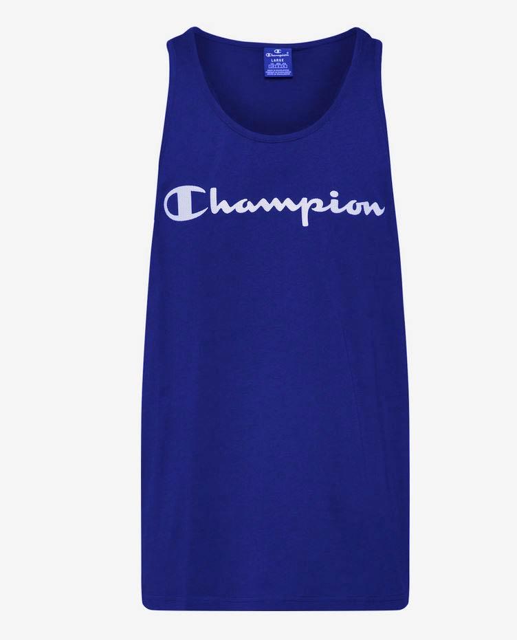 Champion Herren Tank Top Shirt 214145 blau