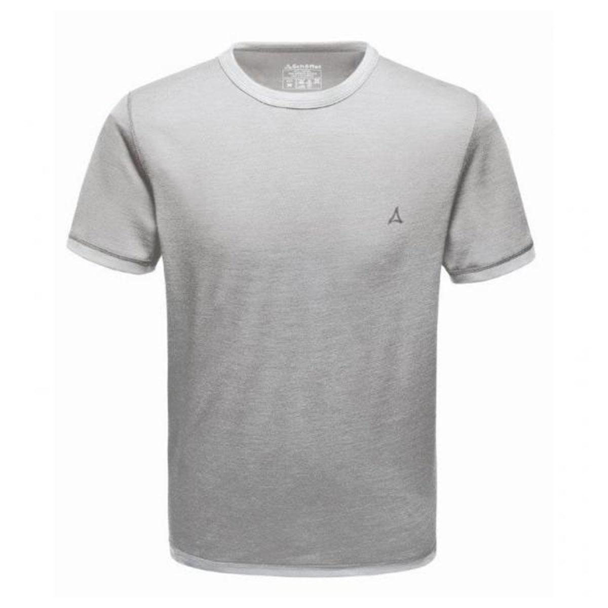 Schöffel Merino Sport Shirt Herren 1/2 Arm hellgrau