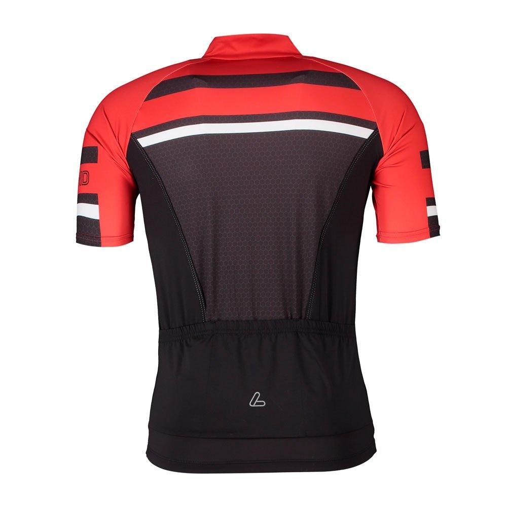 Löffler Herren Hotbond® Radtrikot HZ 23517 black/red