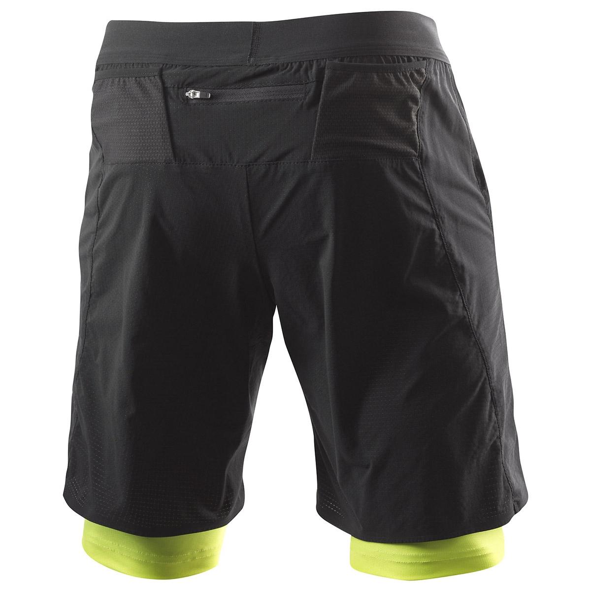 Löffler Hr. Funktions-Shorts 2IN1 schwarz-grün