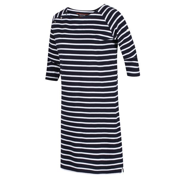 Regatta Damen Hatsy bedrucktes Kleid RWD018 navy