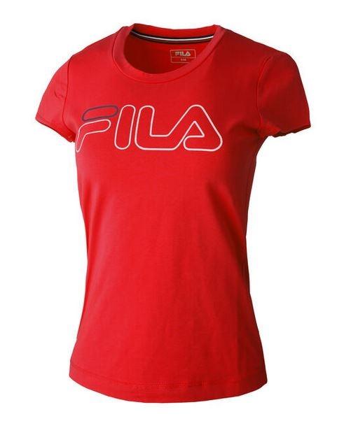 FILA Damen Reni T-Shirt FLL192013 rot