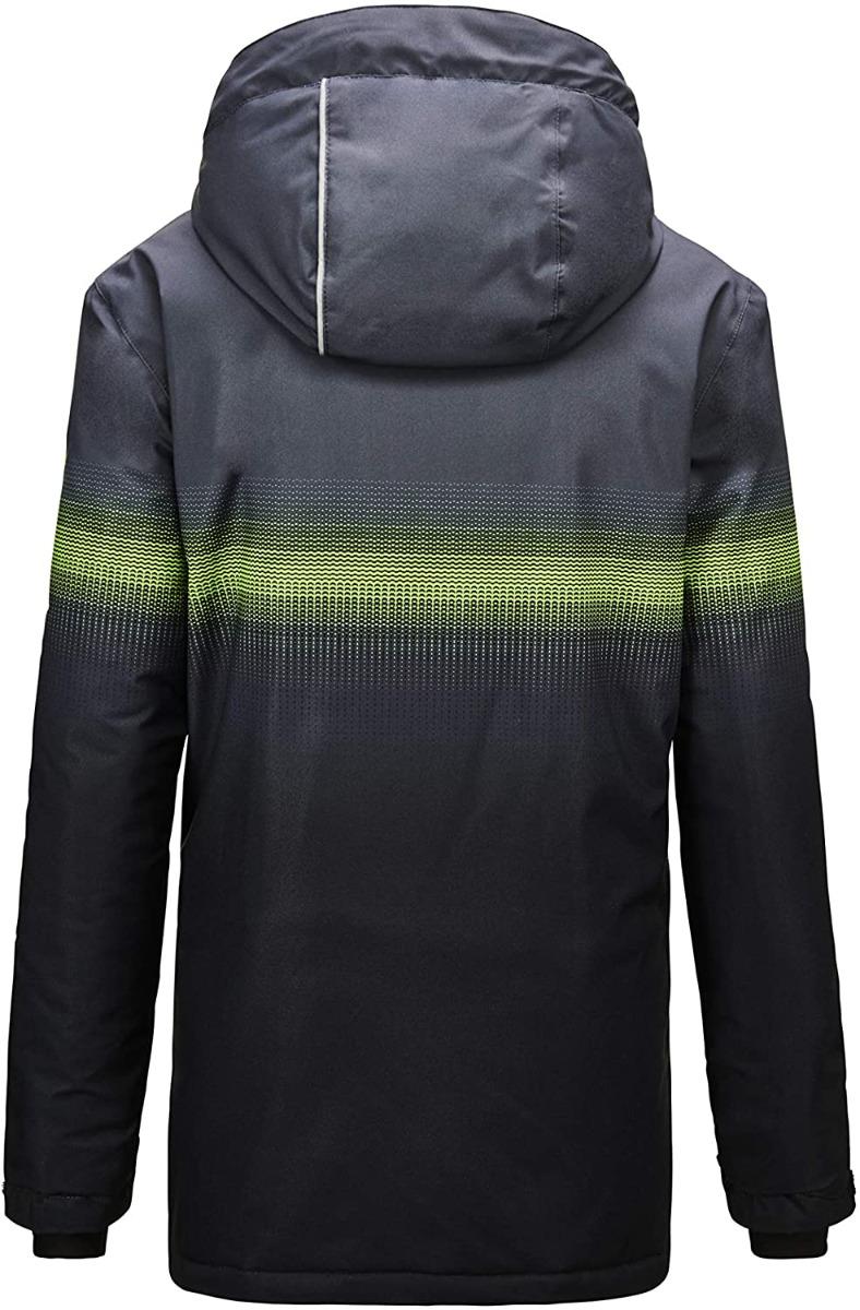 Killtec Jungen Glenshee BYS Skijacke Funktionsjacke mit Kapuze und Schneefang 35508 schwarz