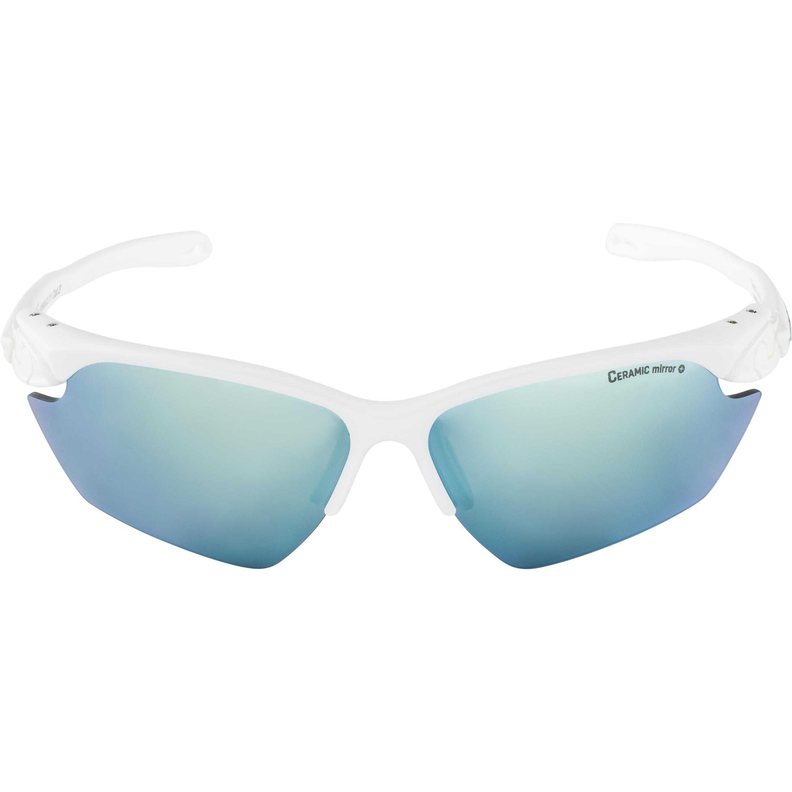 Alpina Sportbrille Twist Five HR S CM+ white matt pistachio