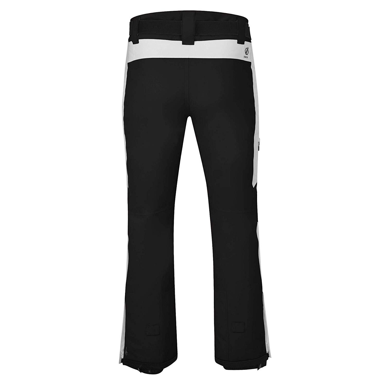 Dare 2b Black Label Herren Charge Out Skihose DMW467 schwarz-weiß