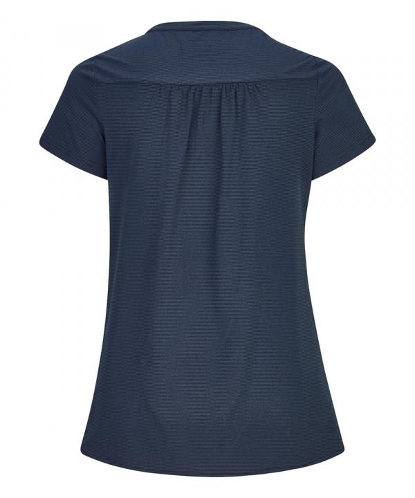 Killtec Damen Venalla Stripe Funktions T-Shirt 35423 dunkelblau
