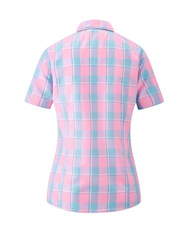 Maier Sports Damen Bluse 1/2 Arm 542821 Karo 1447