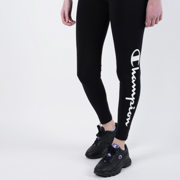 Champion Damen 7/8 Leggings 112596 schwarz