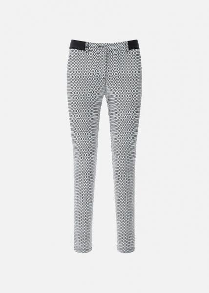 Chervo Damen Golf Hose STELLATO 64955 schwarz-weiß