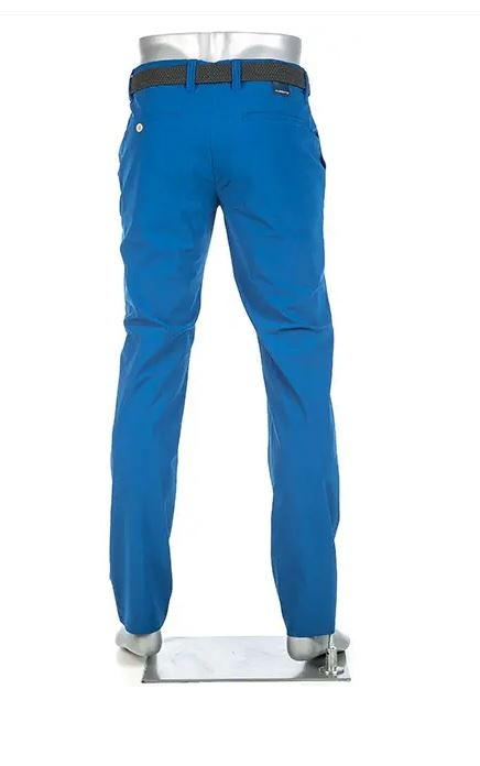 ALBERTO Golf Herren Stretchhose WR Revolutional slim fit ROOKIE blau