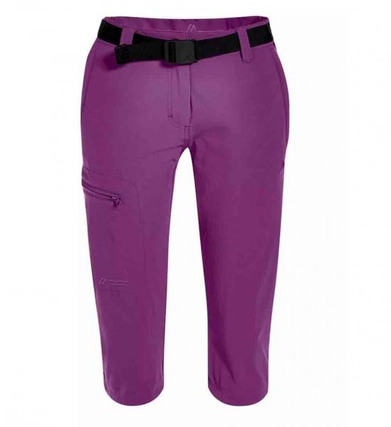 Maier Sports Da.Hose Inara slim 3/4 231007 violett