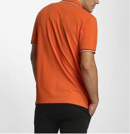 Champion Hr. Polo Shirt Auth 211847 orange