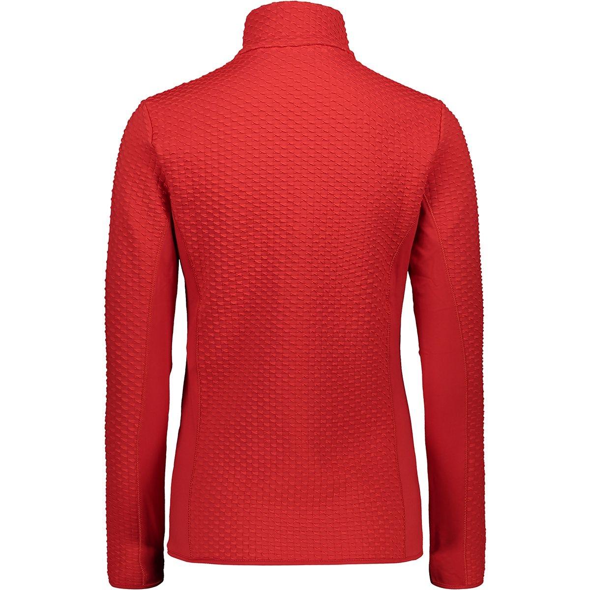 CMP Damen Powerstretch Pullover 39L2626 rot