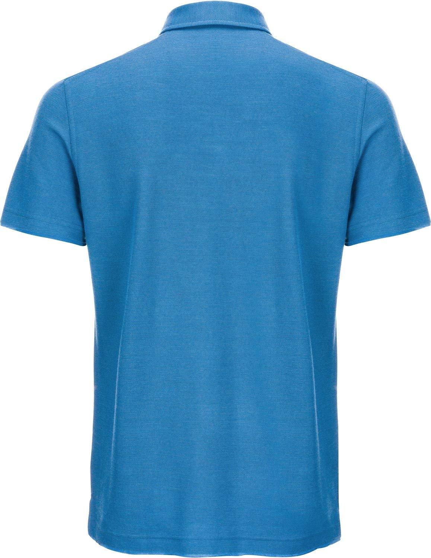 super.natuarl Hr. Piquet Polo Shirt SNM013120 blau