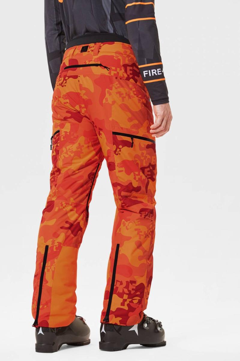 Bogner Fire + Ice Herren Skihose Damien-T 1405 orange