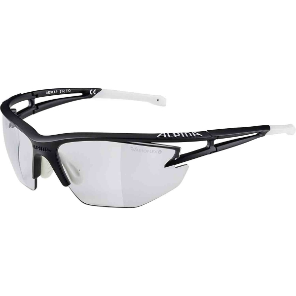 Alpina Sportbrille EYE-5 HR VL+black matt white