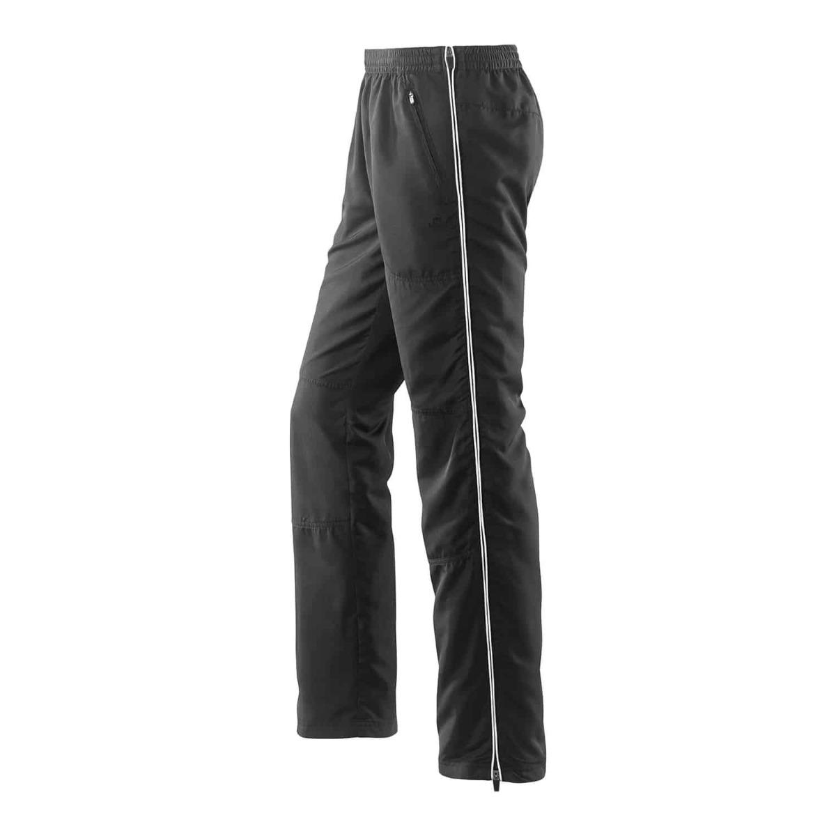 Joy Sportswear Herren Mick Fitnesshose mit Seitenreißverschluss 958 schwarz weiß