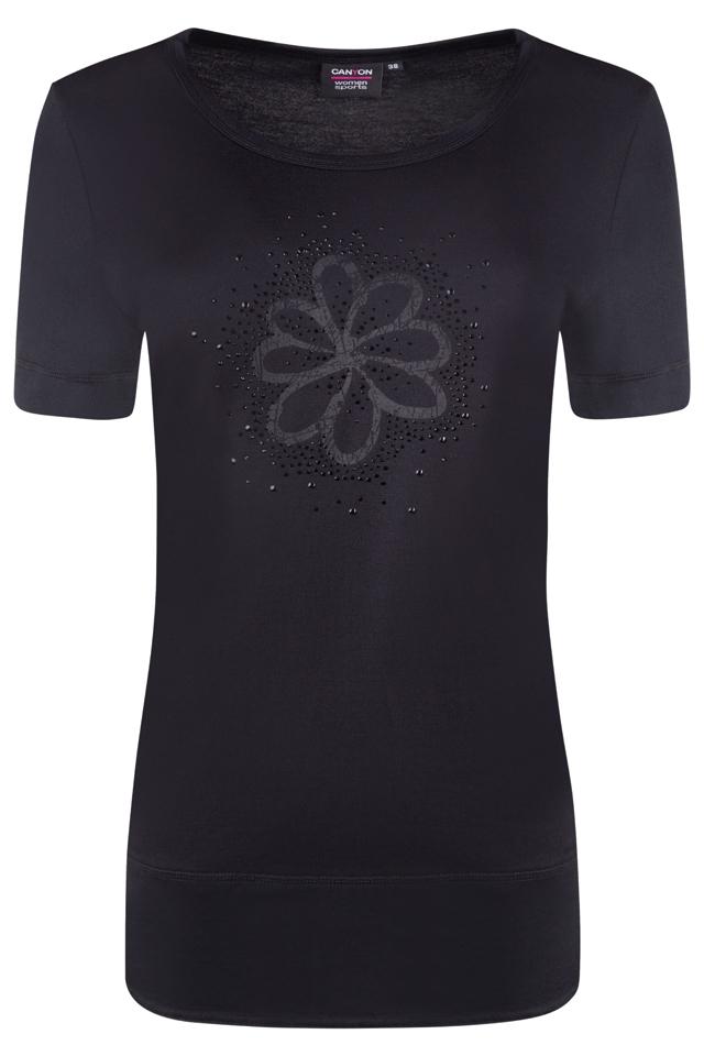 CANYON Da. T-Shirt 1/2Arm 907007 schwarz