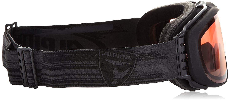 Alpina Erwachsene Challenge 2.0 QV Skibrille A7089731 black