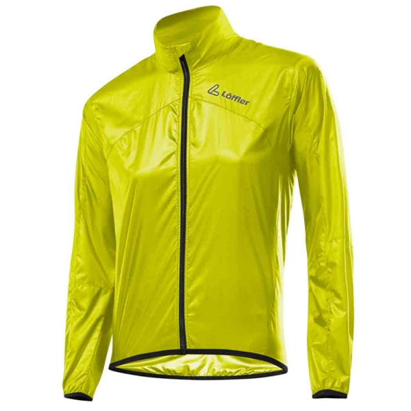 Löffler Damen Windshell Radjacke 15886 neon yellow