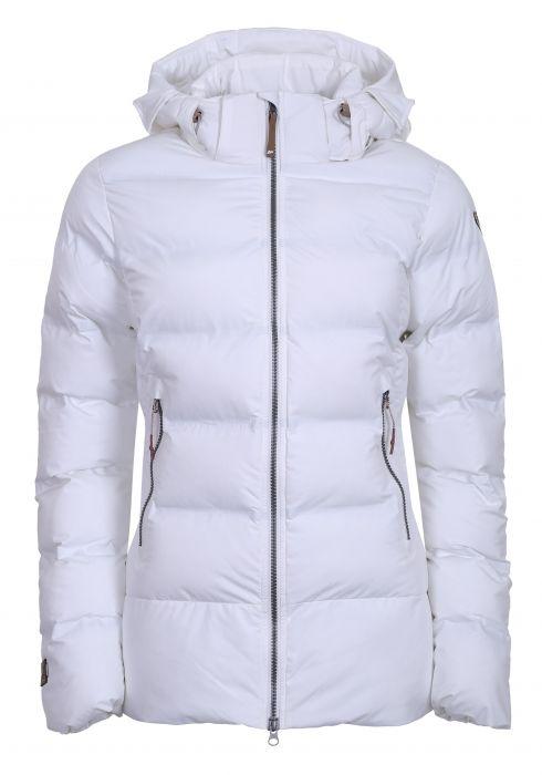 Icepeak Damen Wattierte Winterjacke Andria 453046 weiß