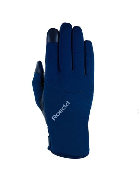Roeckl Bike Handschuh Kochel 3602-102 nachtblau Gr.8,5