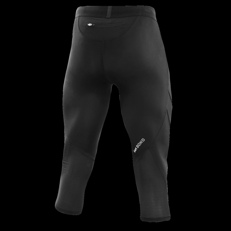 Löffler Herren M 3/4 TIGHTS HOTBOND® RF 23590 schwarz