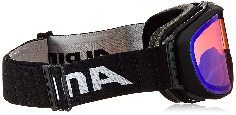 Alpina Erwachsene Skibrille Challenge 2.0 QM A7090831 black