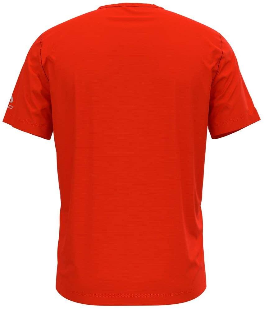 Odlo Herren ELEMENT LIGHT PRINT T-Shirt 313132 orange rot