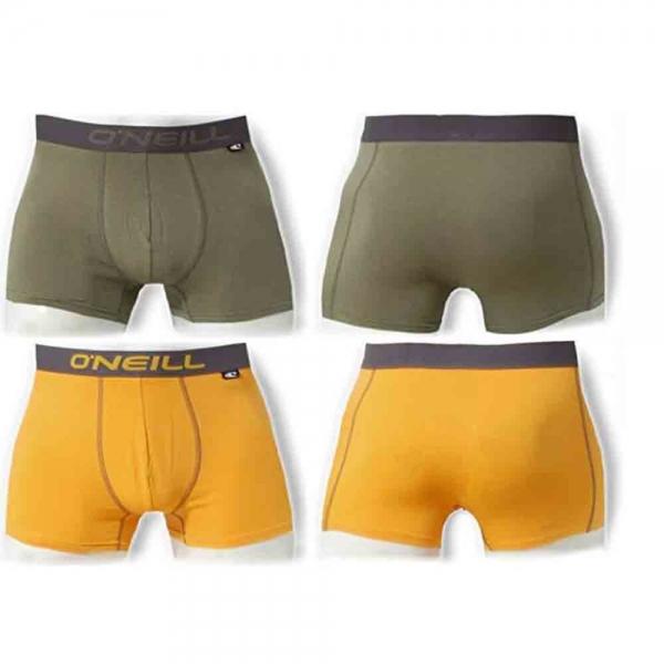 O´Neill Herren Boxershort 2er Pack 900012 Kaki-Gold
