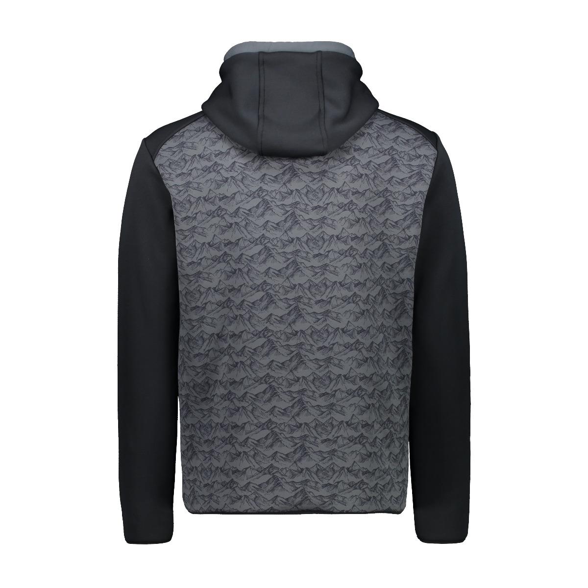 CMP Herren Powerstretch Pullover 30E2347 schwarz