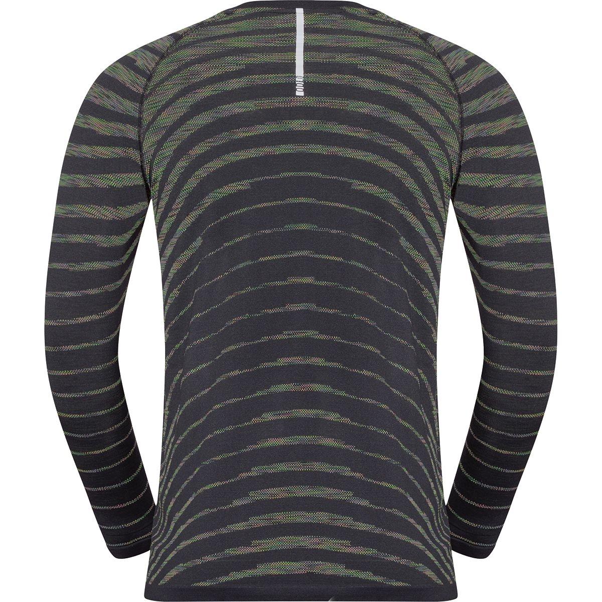 Odlo Herren BLACKCOMB PRO Langarm-Shirt 313182 black-space dye