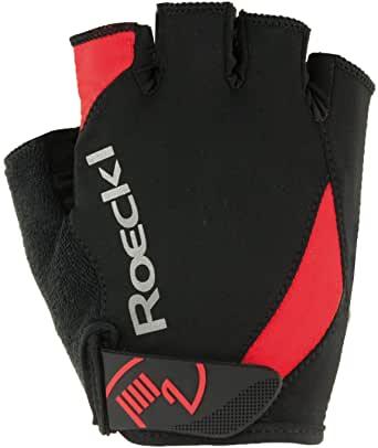 Roeckl Herren Baku Radhandschuhe 3101 schwarz rot Gr.7,5