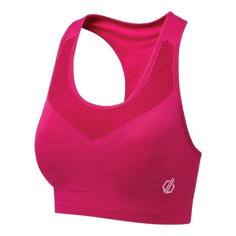 Dare 2b Damen Dont Sweat it bra Sport-BH DWU354 pink