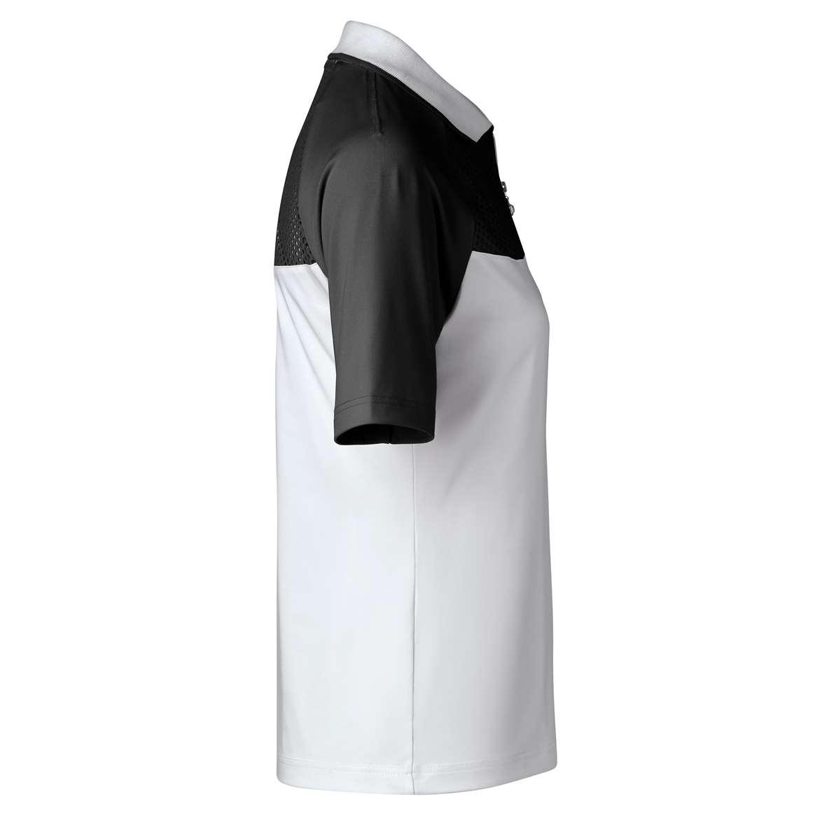 Daily Sports Damen DOMIA Half-Zip Poloshirt 143/142 schwarz-weiß