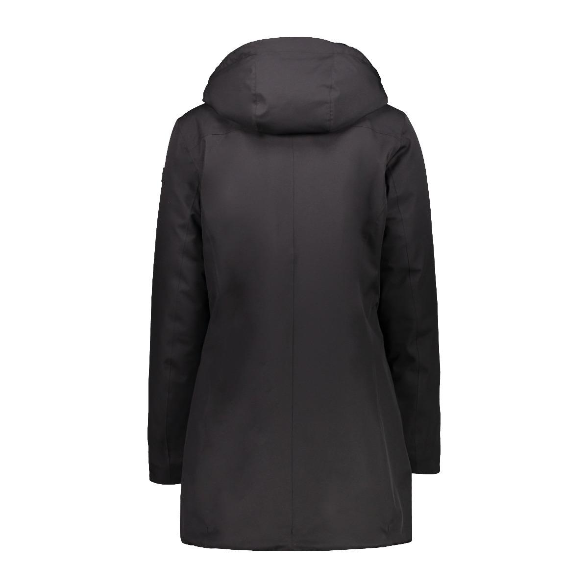 CMP Damen Parka Fix Hood 30K3816 schwarz