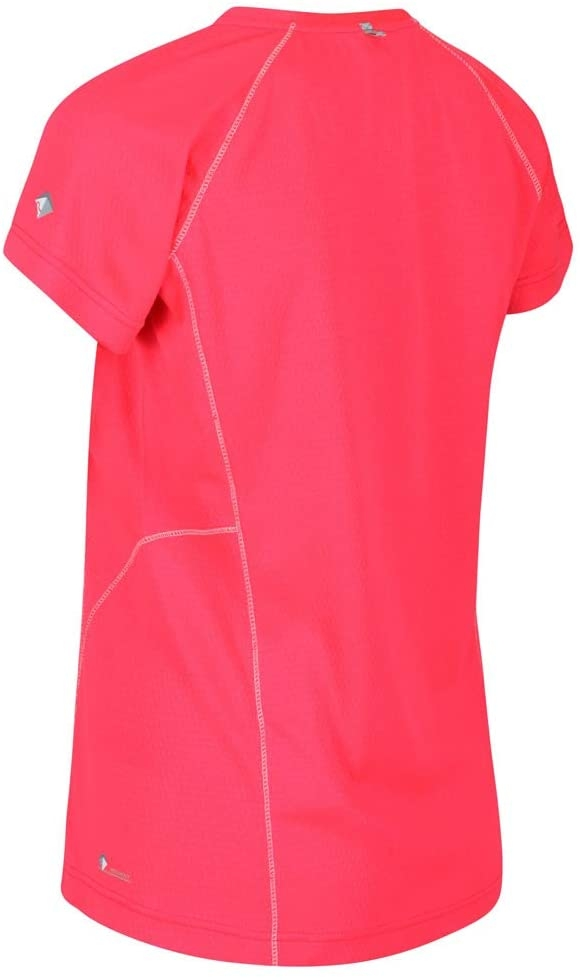 Regatta Damen DEVOTE Active Funktions T-Shirt RWT206 neon pink