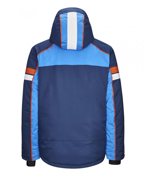 Killtec Hr. Jullio Funktionsjacke mit abzippbarer Kapuze und Schneefang 34146 blau