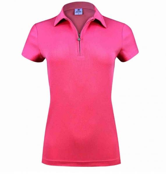 DAILY SPORTS Damen Macy cap/s Polo shirt 243/101 pink