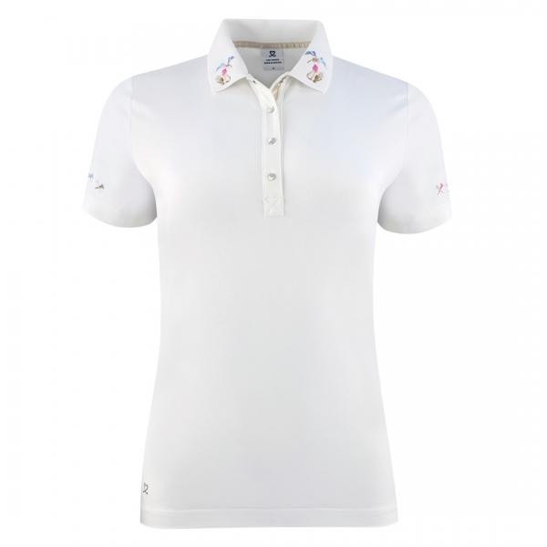 DAILY SPORTS Damen Selma SS Polo shirt 243/140 white
