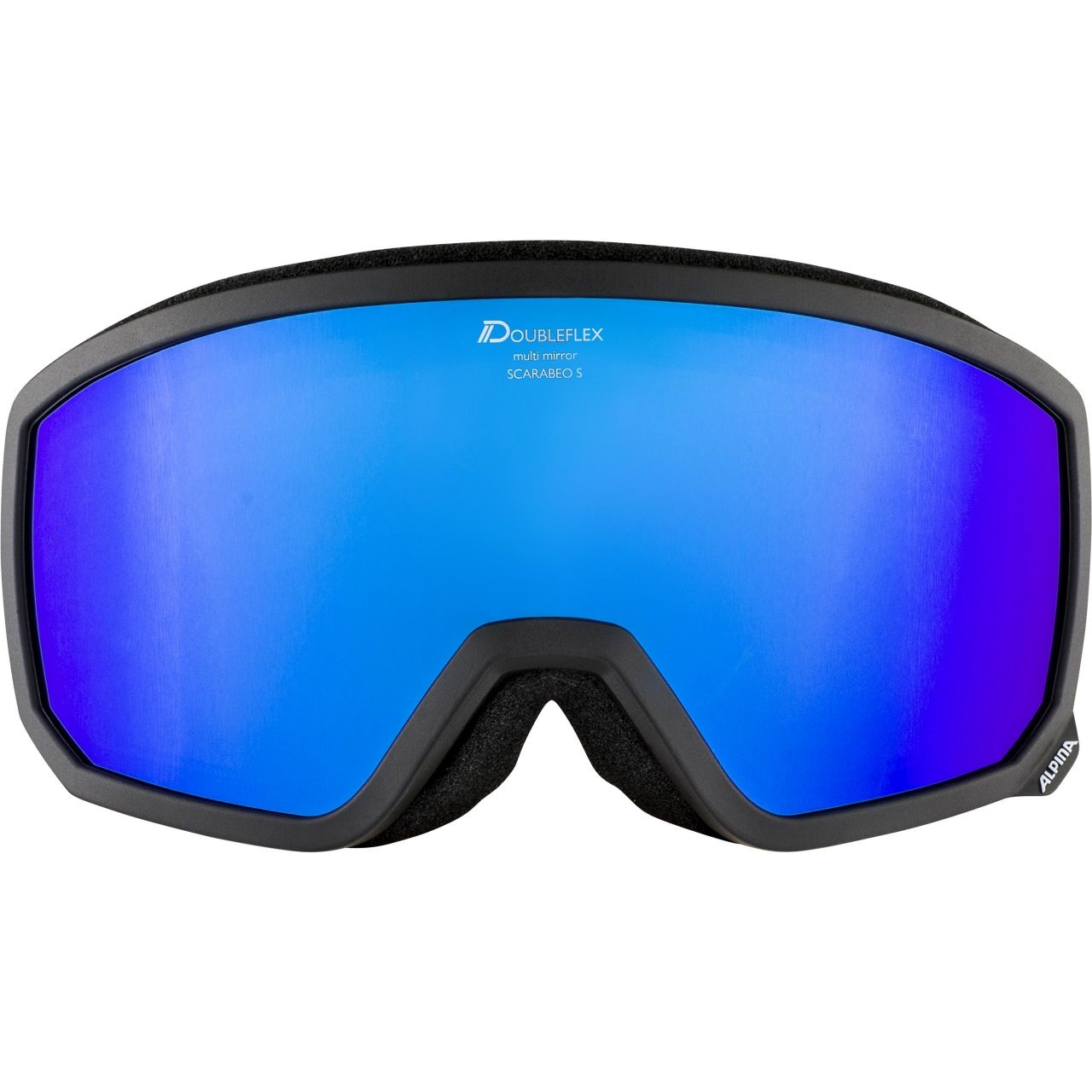 Alpina Erwachsenen SCARABEO S HM Skibrille A7261 black-blue