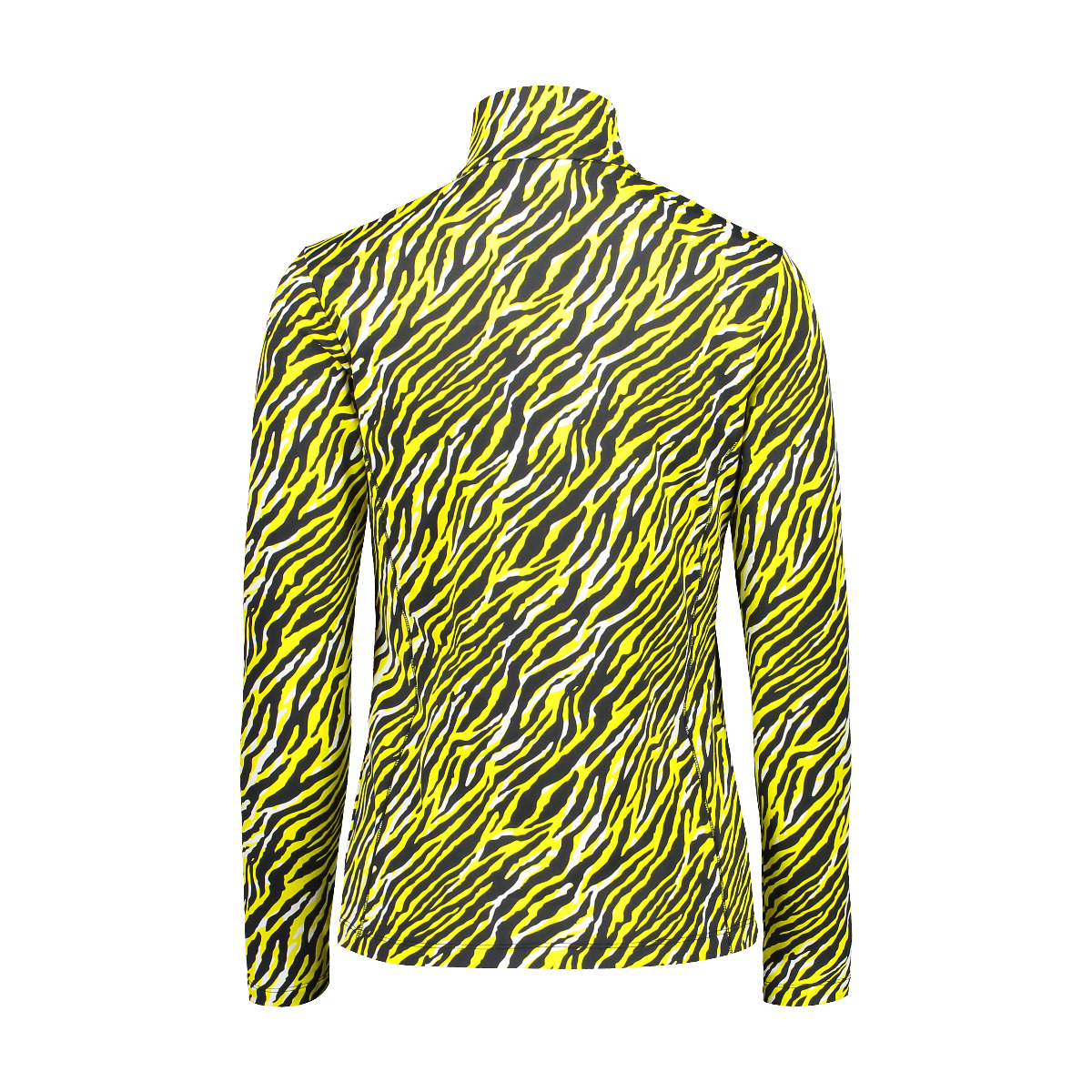 CMP Damen Skirolli Print 30L1306 schwarz gelb