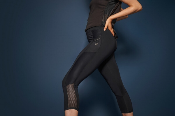 Dare 2b Damen Pants Shine Bright 3/4 DWJ497 black
