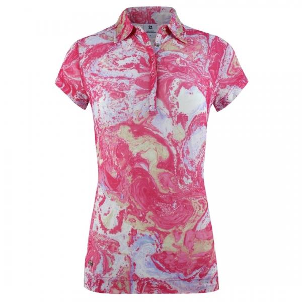DAILY SPORTS Damen Adelina Cap S Poloshirt 243/119 fruit punch