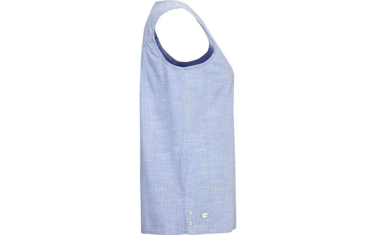 Regatta Damen JADINE Blouse Lightweight Sleeveless Shirt RWS110 blue skies