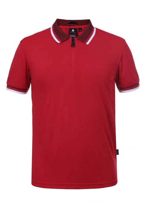 Lutha Hr. Polo Shirt Aatos 333511 rot
