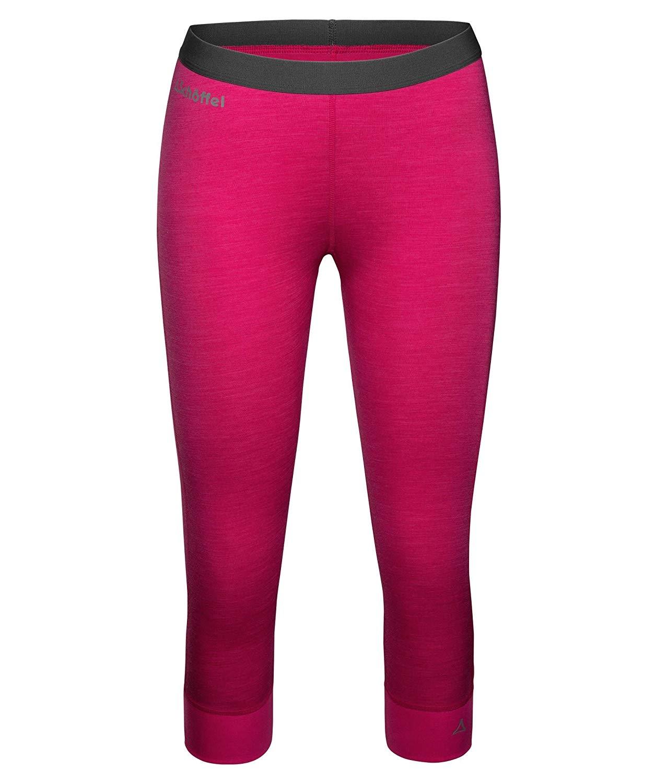 Schöffel Merino Sport Hose 3/4 Damen 11343 pink