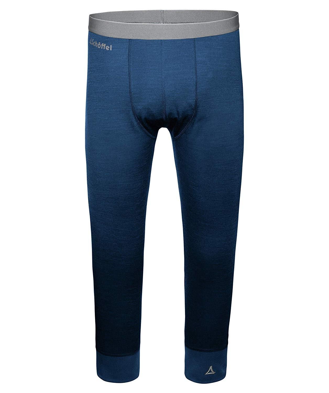 Schöffel Merino Sport Hose 3/4 Herren 11343 blau