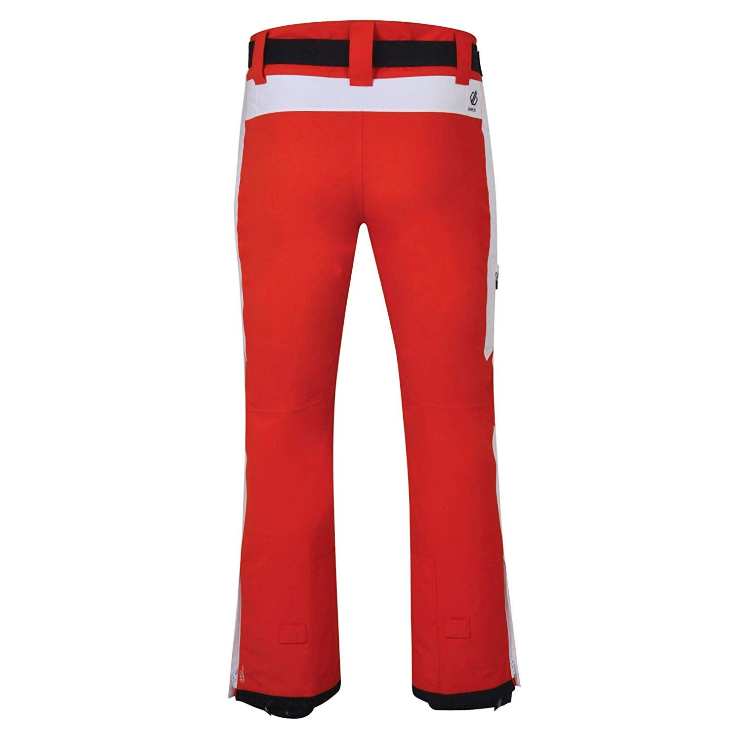 Dare 2b Black Label Herren Charge Out Skihose DMW467 rot-weiß